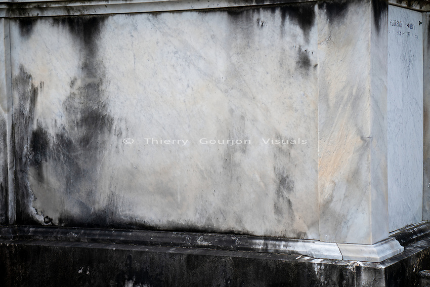 Lafayette Cemetery.<br /> New Orleans, Louisiana. 01.08.2019<br /> Photo by Thierry Gourjon.