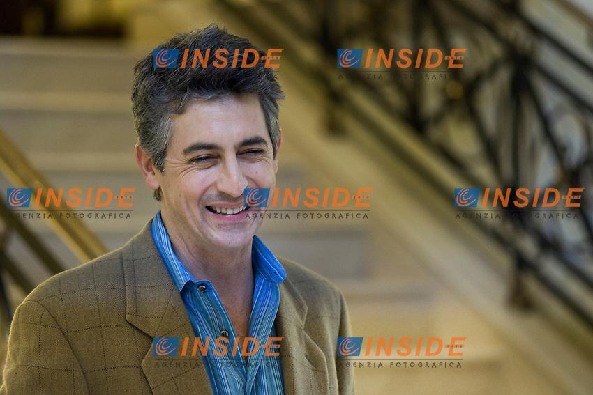 Roma 25/01/2012 Photocall del film Paradiso Amaro con il.regista Alexander Payne.Foto Insidefoto