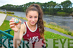 Thirteen year-old Sophie Lynch from Lisselton, a member of Listowel AC clocked up the 53 All-Ireland medal in the family last week.