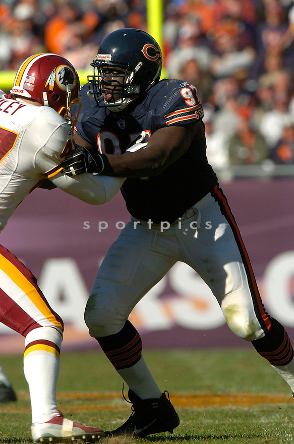 Michael Haynes during the Chicago Bears v. Washington Redskins game on October 17, 2004...Washington wins 13-10..David Durochik / SportPics