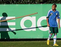 SÃO PAULO,SP, 16 julho 2013 -   Ananias durante treino do Palmeiras no CT da Barra funda  na zona oeste de Sao Paulo, onde a equipe faz jogo treino contra o Atletico Atibaia . FOTO ALAN MORICI - BRAZIL FOTO PRESS