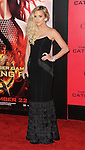 Ashlee Simpson arriving to 'The Hunger Game Catching Fire Premiere', Los Angeles, Ca. November 18, 2013.