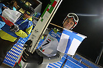 Sami Niemi from Finland competes during the Normal Hill Ski Jumping event as part of the Winter Universiade Trentino 2013 on 14/12/2013 in Predazzo, Italy.<br /> <br /> &copy; Pierre Teyssot - www.pierreteyssot.com