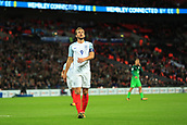 5th October 2017, Wembley Stadium, London, England; FIFA World Cup Qualification, England versus Slovenia; A dejected Harry Kane, the England captain as another chance goes begging