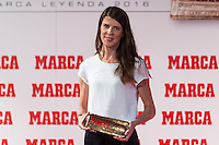 Spanish high jumper Ruth Beitia during the award ceremony of Marca legend in the spanish olympic commitee headquarters in Madrid September 13, 2016. (ALTERPHOTOS/Rodrigo Jimenez) /NORTEPHOTO