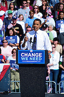 Barack Obama rally in Saint Louis, MO on Oct 18, 2008.