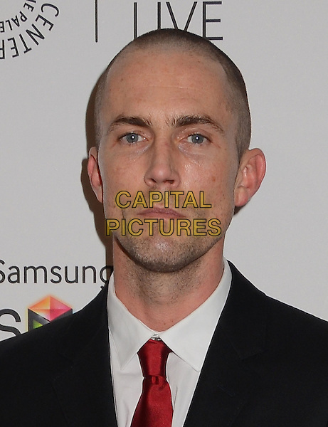 Desmond Harrington<br /> PaleyFest &quot;Fall Farewell&quot; to Showtime's 'Dexter' at Paley Center for Media in Beverly Hills, CA, USA, 12th September 2013. <br /> portrait headshot black suit red tie white shirt <br /> CAP/ADM/BT<br /> &copy;Birdie Thompson/AdMedia/Capital Pictures