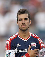 New England Revolution forward Benny Feilhaber (22). In a Major League Soccer (MLS) match, Sporting Kansas City defeated the New England Revolution, 1-0, at Gillette Stadium on August 4, 2012.