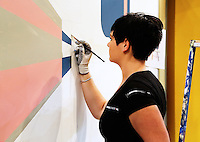 Skills Masters beurs in Rotterdam Ahoy. Banenbeurs/ Beroepskeuze beurs voor VMBO en MBO  leerlingen. Vakwedstrijd voor schilders
