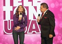 MIAMI, FL - DECEMBER 14: Lucero and Don Francisco at Teleton USA at Univision Studios in Miami, Florida. December 14, 2012. Credit: Majo Grossi/MediaPunch Inc. /NortePhoto