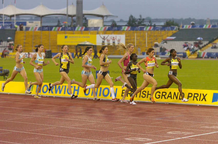 Photo: Richard Lane/Sportsbeat Images..Norwich Union British Grand Prix, Sheffield. 15/07/2007. .Women's 3000m.
