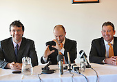 21/05/2009 Ian Holloway appointed manager of Blackpool FC meets the press<br /> <br /> <br /> <br /> <br /> <br /> &copy; Phill Heywood<br /> tel 07806 775649