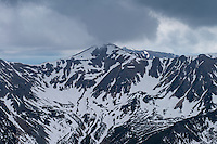 Stormy weather over Tatra mountains, Poland/Slovakia
