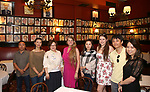 Zhiyong Liu, Zhenzhu Ma, Yanping Ma, Bonnie Comley, Xuejiao Bai, Leah Lane, Wen Chen and Qianda Rao attend Central Academy of Drama: Professors Visit Sardi's on September 24, 2017 at the Drama League Center  in New York City.