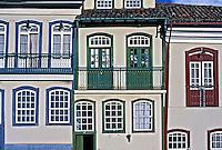 Cidade colonial de Ouro Preto. Minas Gerais. 2001. Foto de Ricardo Azoury.