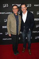 "NORTH HOLLYWOOD, CA - MAY 15: Fred Armisen, Kyle MacLachlan, at IFC Hosts ""Brockmire"" And ""Portlandia"" EMMY FYC Red Carpet Event at Saban Media Center at the Television Academy, Wolf Theatre in North Hollywood, California on May 15, 2018. Credit: Faye Sadou/MediaPunch"