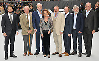 "Charlie Cox, Sir Michael Gambon, Sir Michael Caine, Francesca Annis, Ray Winstone, Paul Whitehouse, Sir Tom Courtenay and Jim Broadbent at the ""King of Thieves"" world film premiere, Vue West End, Leicester Square, London, England, UK, on Wednesday 12 September 2018.<br /> CAP/CAN<br /> ©CAN/Capital Pictures"