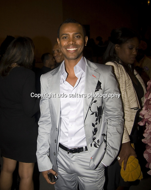 Desginer Edwing D'Angelo attends 2010 Harlem's Fashion Row Held at The Studio Museum In Harlem, New York 9/17/10