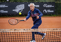 Oldenzaal, Netherlands, August 15, 2019, TC Ready, Old Stars Program, Tom Okker <br /> Photo: Tennisimages/Henk Koster