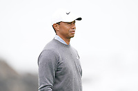 Tiger Woods (USA) on the 5th green during the 3rd round of the US Open Championship, Pebel Beach Golf Links, Monterrey, Calafornia, USA. 15/06/2019.<br /> Picture Fran Caffrey / Golffile.ie<br /> <br /> All photo usage must carry mandatory copyright credit (© Golffile | Fran Caffrey)