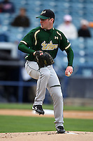 March 2, 2010:  Pitcher Teddy Kaufman of the South Florida Bulls during a game at Legends Field in Tampa, FL.  Photo By Mike Janes/Four Seam Images