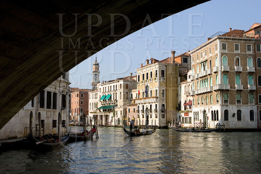 Veduta del Canal Grande a Venezia.<br /> View of the Grand Canal, in Venice.<br /> UPDATE IMAGES PRESS/Riccardo De Luca