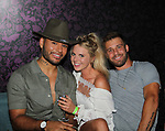 Jozea Flores, Nicole Franzel, Paulie Calafiore at Big Brother 19 premier  on June 28, 2017 at Slate, New York City, New York. (Photos by Sue Coflin/Max Photos -  suemax13@optonline.net