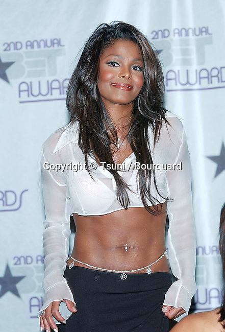 Janet Jackson in  the press Room at the 2nd Annual BET Awards at the Kodak Theatre in Los Angeles. June 25, 2002.           -            JacksonJanet10A.jpg