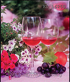 Interlitho, Alberto, STILL LIFES, photos, wineglasses, grapes(KL16258,#I#) Stilleben, naturaleza muerta