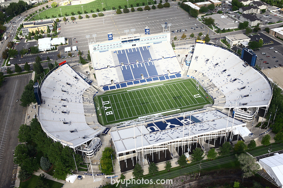 1309-22 3545<br /> <br /> 1309-22 BYU Campus Aerials<br /> <br /> Brigham Young University Campus, Provo, <br /> <br /> Lavell Edwards Stadium, LES, BYU Football<br /> <br /> September 6, 2013<br /> <br /> Photo by Jaren Wilkey/BYU<br /> <br /> © BYU PHOTO 2013<br /> All Rights Reserved<br /> photo@byu.edu  (801)422-7322