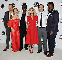 06 August  2017 - Beverly Hills, California - Josh Randall, Erika Christensen, Adewale Akinnuoye-Agbaje, Kyra Sedgwick, Kick Gurry, Malcolm_Jamal Warner.   2017 ABC Summer TCA Tour  held at The Beverly Hilton Hotel in Beverly Hills. <br /> CAP/ADM/BT<br /> &copy;BT/ADM/Capital Pictures
