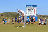 Bradley Neil (SCO) on the 9th during Round 2 of the Dubai Duty Free Irish Open at Ballyliffin Golf Club, Donegal on Friday 6th July 2018.<br /> Picture:  Thos Caffrey / Golffile