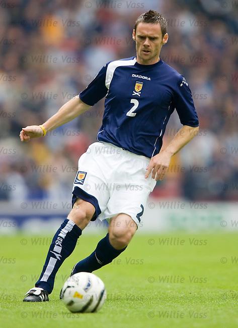 Graham Alexander, Scotland.stock season 2005-2006.pic willie vass