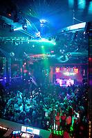 Bayfront Magazine's launch party at the 18,000 sq-ft. nightclub LIV in the Fontainebleau, Miami Beach, Florida, USA. Photo/Debi Pittman Wilkey.