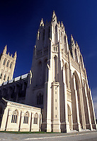 cathedral, Washington, DC, District of Columbia, Washington National Cathedral officially named the Cathedral of Saint Peter and Saint Paul in Washington D.C.