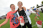 Hannah Ettie and Zoey Ettie<br /> at the Highlands sports day <br /> Picture www.newsfile.ie