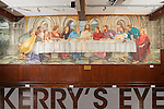 A Fresco of the Last Supper by American artist Elenor E. Yates in the Nano Nagle room of An Di?seart institute of Irish Culture and Spirituality in Dingle