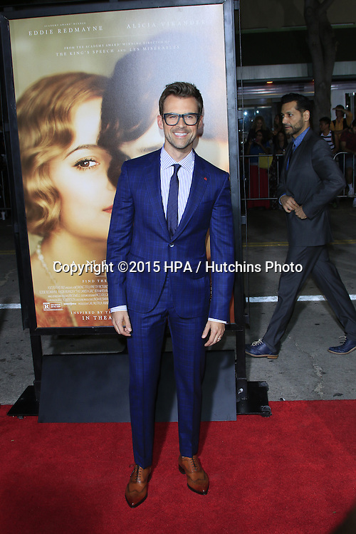 "LOS ANGELES - NOV 21:  Brad Goreski at the ""The Danish Girl"" Premiere at the Village Theater on November 21, 2015 in Westwood, CA"