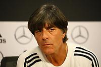 Bundestrainer Joachim Loew (Deutschland Germany) - 12.10.2018: Pressekonferenz der Deutschen Nationalmannschaft vor dem UEFA Nations League Spiel gegen die Niederlande