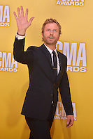 NASHVILLE, TN - NOVEMBER 1: Dierks Bentley on the Macy's Red Carpet at the 46th Annual CMA Awards at the Bridgestone Arena in Nashville, TN on Nov. 1, 2012. © mpi99/MediaPunch Inc. /NortePhoto