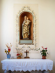 Madonna, Church of the Madonna dei Lumi, San Gimignano, Siena-Tuscano, Italy