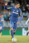 Getafe's Juan Rodriguez during La Liga match. February 27,2016. (ALTERPHOTOS/Acero)