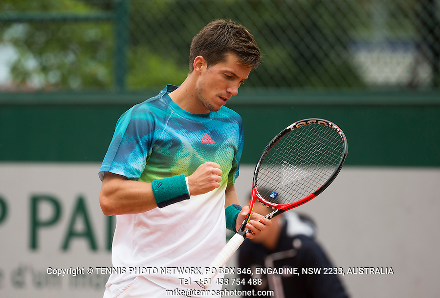 ALJAZ BEDENE (GBR)<br /> <br /> TENNIS - FRENCH OPEN - ROLAND GARROS - ATP - WTA - ITF - GRAND SLAM - CHAMPIONSHIPS - PARIS - FRANCE - 2016  <br /> <br /> <br /> <br /> &copy; TENNIS PHOTO NETWORK