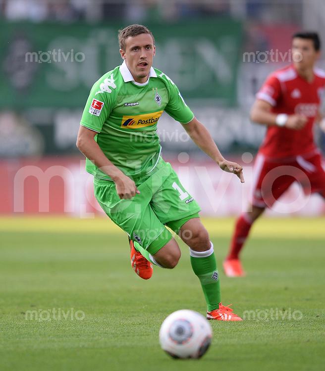FUSSBALL  1. Bundesliga   2013/2014   Testspiel  FC Ingolstadt 04 - Borussia Moenchengladbach    13.07.2013 Max Kruse (Borussia Moenchengladbach) mit Ball