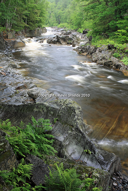 Coos Canyon on the Swift River in Byron, Maine, USA