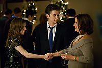 Jillian Stewart (Anna Kendrick), Will Davis (Miles Teller)  and Katherine Dunn (Marcia Gay Harden)