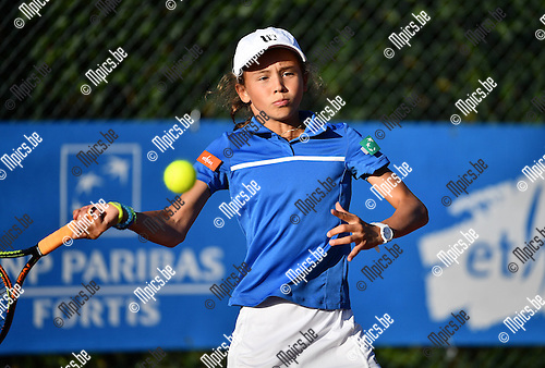 2016-09-09 / Tennis / Seizoen 2016 / Feest Van de Jeugd / Hanne Vandewinkel<br /> <br /> ,Foto: Mpics.be