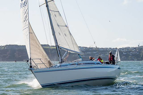 Kieran O'Brien's MG335 Magnet was the White Sails IRC 2 winner in the 2019 league but then dismasted in the club's winter league a month later