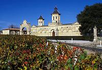 Bordeaux Wine Region, France, Gironde, Aquitaine, Cos d'Estournel, Europe, Medoc Vineyards
