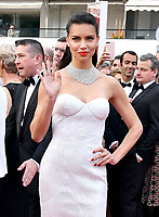 www.acepixs.com<br /> <br /> May 18 2017, Cannes<br /> <br /> Adriana Lima arriving at a screening of 'Loveless'  during the 70th annual Cannes Film Festival at Palais des Festivals on May 18, 2017 in Cannes, France<br /> <br /> By Line: Famous/ACE Pictures<br /> <br /> <br /> ACE Pictures Inc<br /> Tel: 6467670430<br /> Email: info@acepixs.com<br /> www.acepixs.com